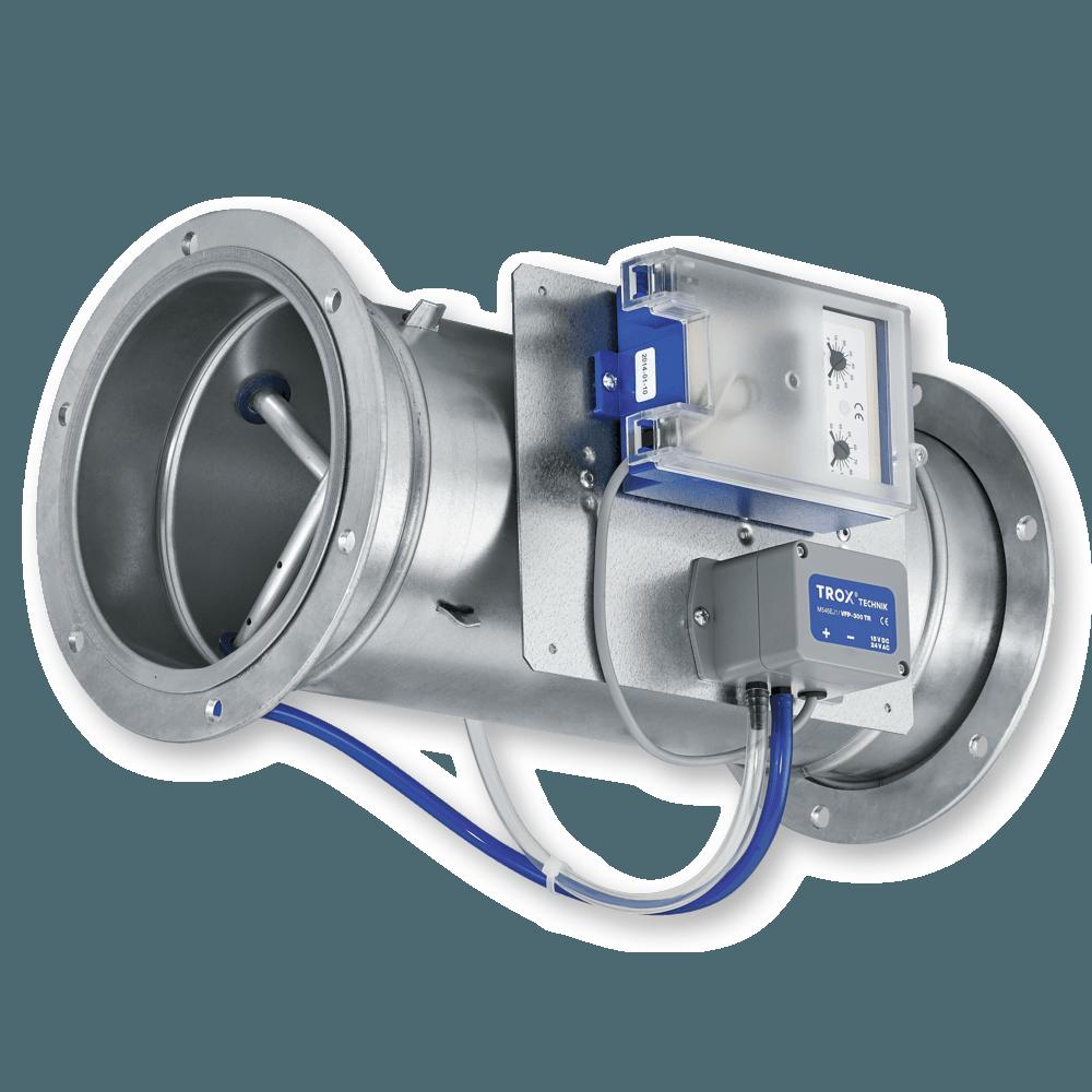 Измервателни устройства за обемната скорост на потока